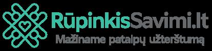 Rupinkis Savimi logotipas